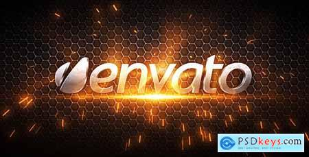 Videohive Metal Logo and Title Sequence