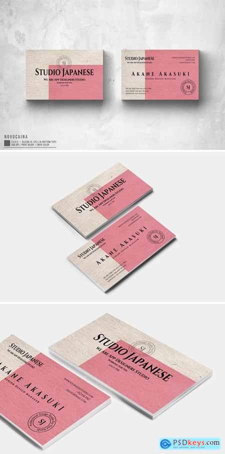 Akane Akasuki Studio Business Card