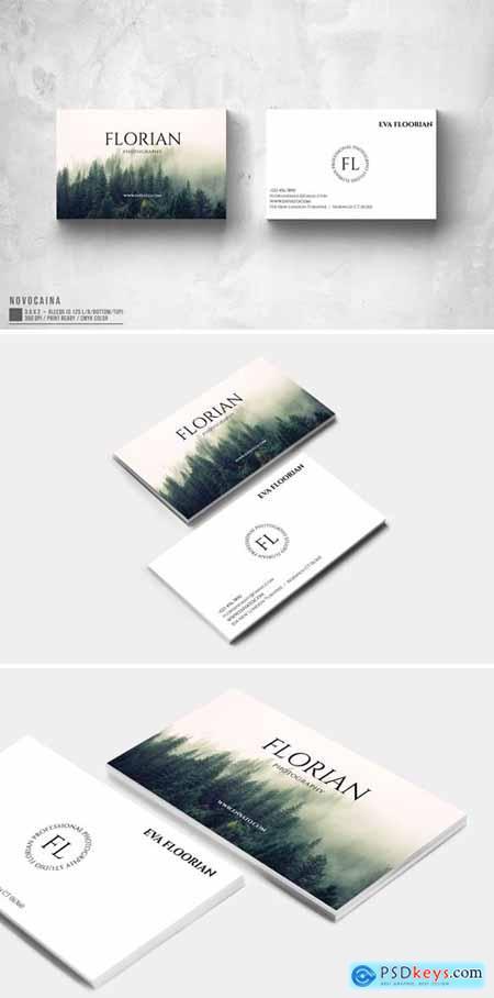 Florian Photography Business Card