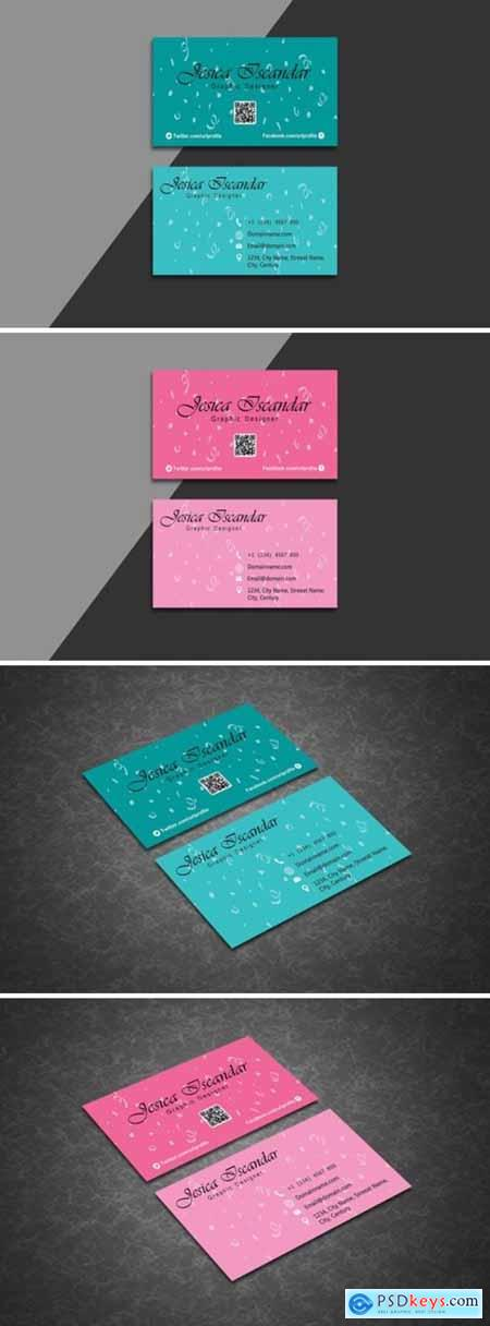 Creative Business Card Template 1589684