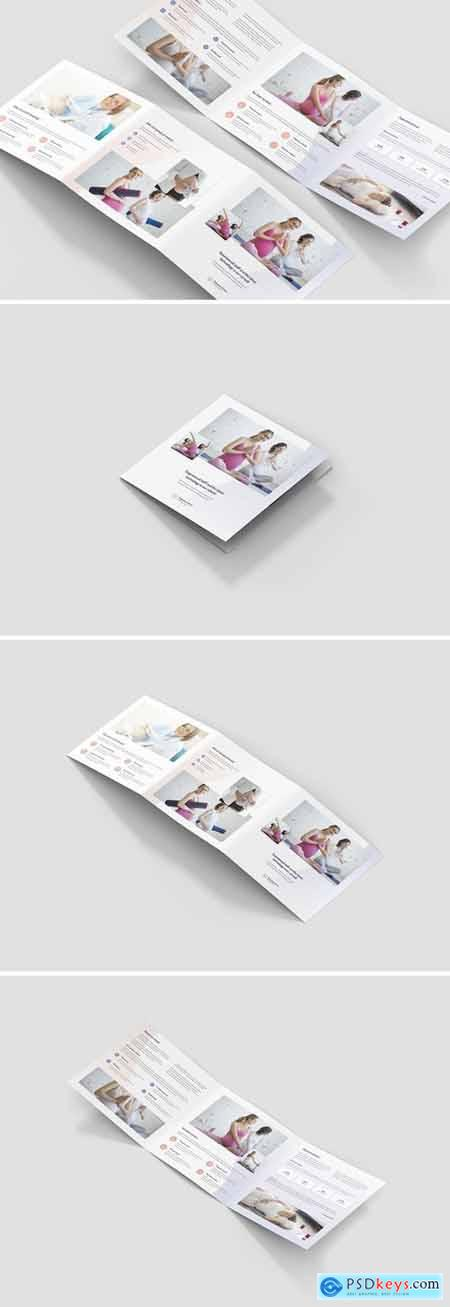 Brochure – Pregnancy School Tri-Fold Square