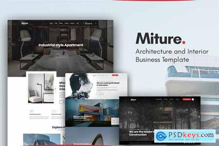 Miture - Architecture & Interior Business Template
