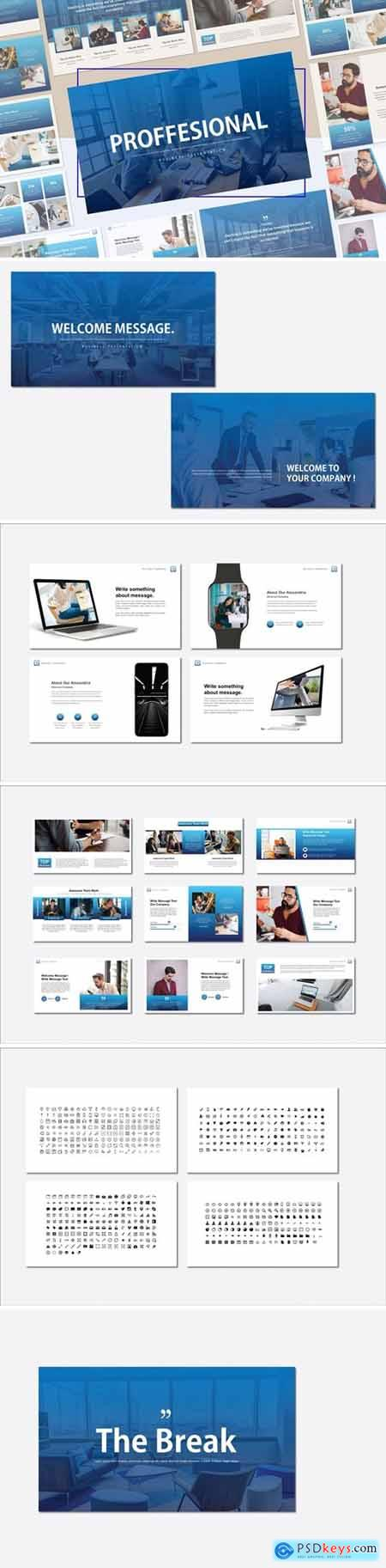 PROFFESIONAL Powerpoint, Keynote and Google Slides Templates