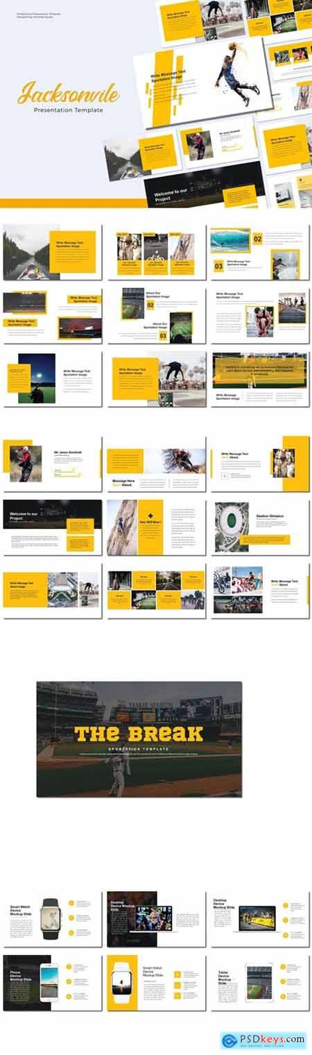 JACKSONVILE Powerpoint, Keynote and Google Slides Templates