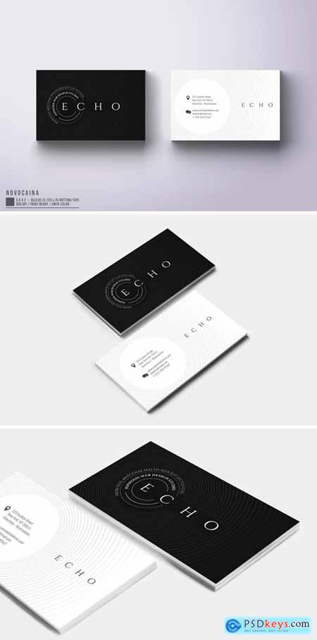 Echo Business Card Design
