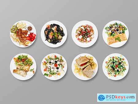 Top View of Plates Art Kit 277540345