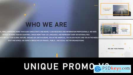 VideoHive Unique Promo v3 Corporate Presentation