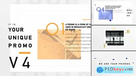 VideoHive Unique Promo v4 Corporate Presentation
