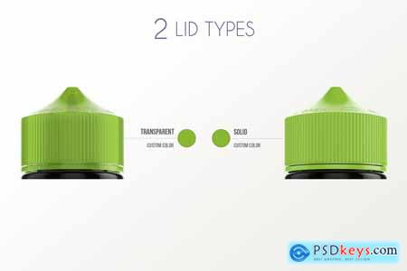 eLiquid Bottle Mockup v 120ml-A Plus 3898702