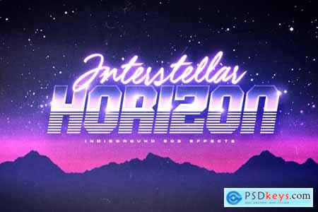 80s Text Effects Vol.1 3896626