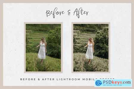 Bali Lightroom MOBILE Presets 3908640