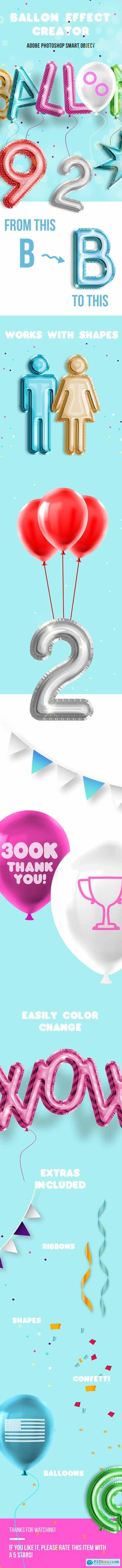 Balloon Effect Creator 24022894