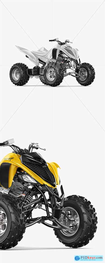 Quad Bike Mockup - Half Side View 39505