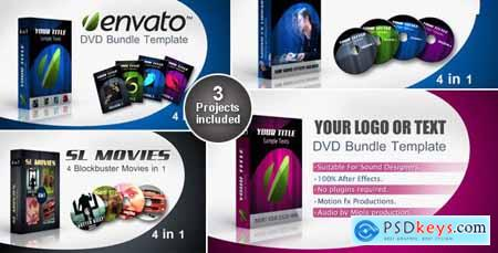 Videohive Commercialized Element Season DVD bundle