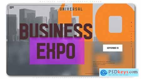 Videohive Business Expo Typography Opener