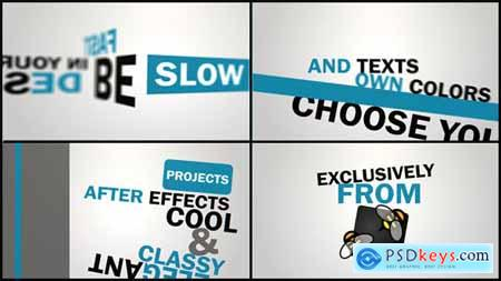 Videohive Kinetic Typography 4706469