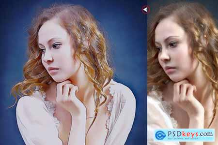 4 In 1 painting Bundle Photoshop Action