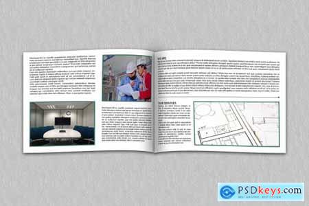 6 Page Corporate Builders business Brochure