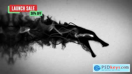 Videohive Ink Dragon Reveal 24141277