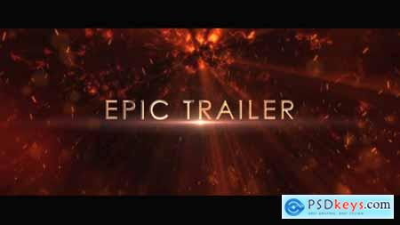 Videohive Infernal Chaos Trailer_3D Glossy Titles