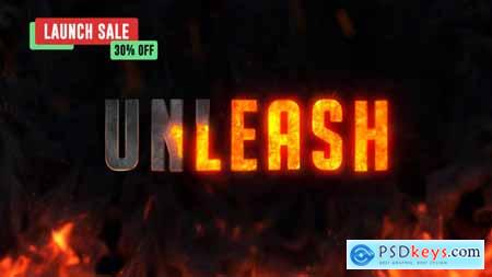 Videohive Hell Fire Titles