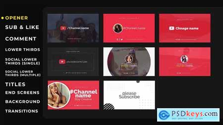 Videohive YouTube Kit 24143386