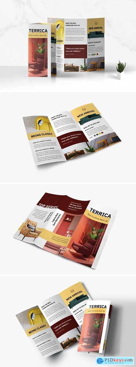 Trifold Furniture Business Brochure