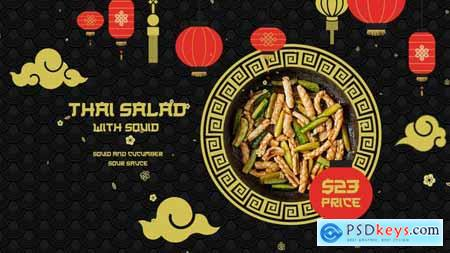 VideoHive Asian Food 24096335