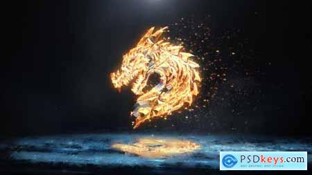 VideoHive Ice and Flame Logo