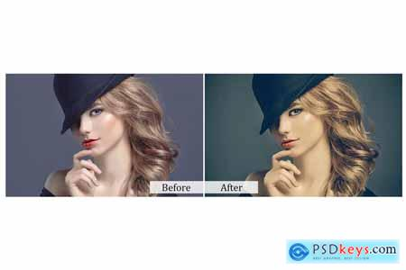 100 Modern Vintage Photoshop Actions 3934804
