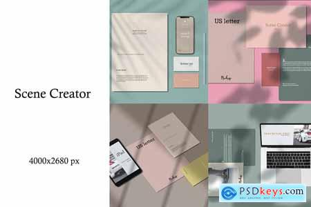 Scene Creator - Mockups Kit 3917106