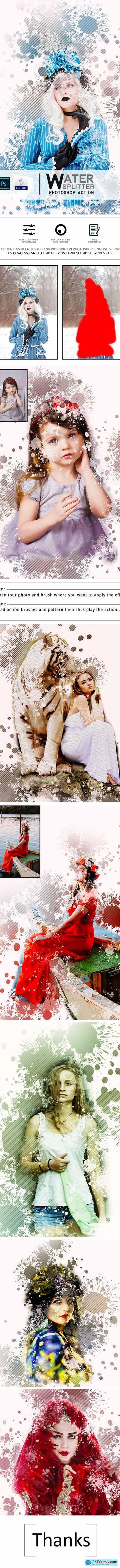 Water Splitter PS Action 24067611