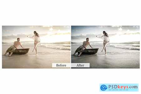 115 Lovely Color Photoshop Actions 3934736
