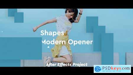Videohive Shapes Modern Opener 23793482