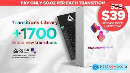 Videohive Seamless Transitions V1.0.1 23955941 (Update 2 July 19)