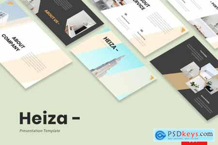 Heiza - Corporate Powerpoint, Keynote and Google Slides Templates