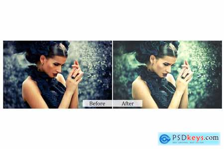 65 Fairytale Photoshop Actions 3934574