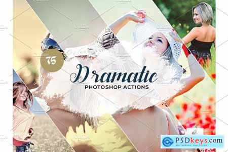 75 Dramatic Photoshop Actions 3934368