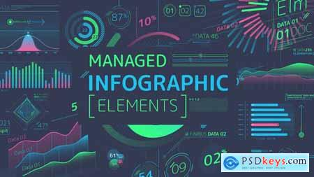 Videohive Managed Infographic Elements