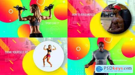 Videohive Sporty Club - Fitness Promotion