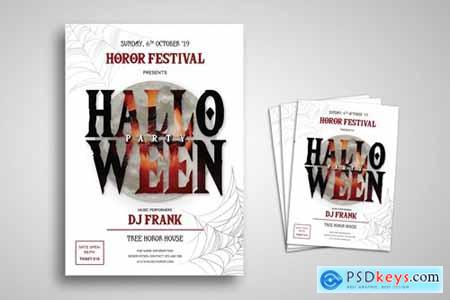 Halloween Party Flyer Promo Template