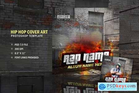 Rap Hip Hop Album CD Cover Art