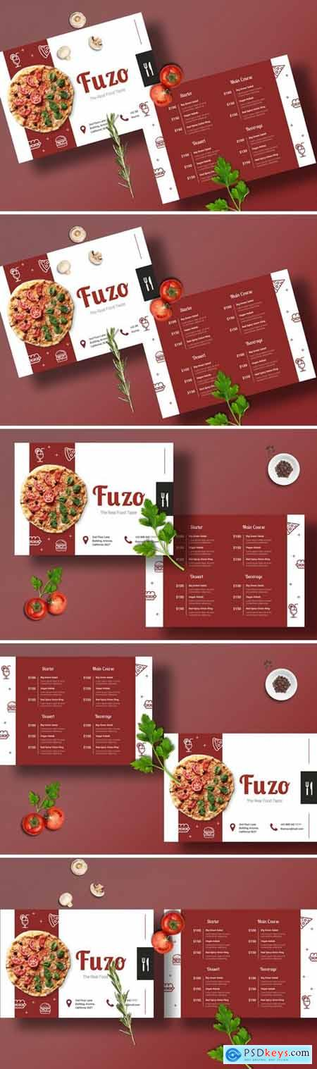 Restaurant Menu Template 2FUPM9H