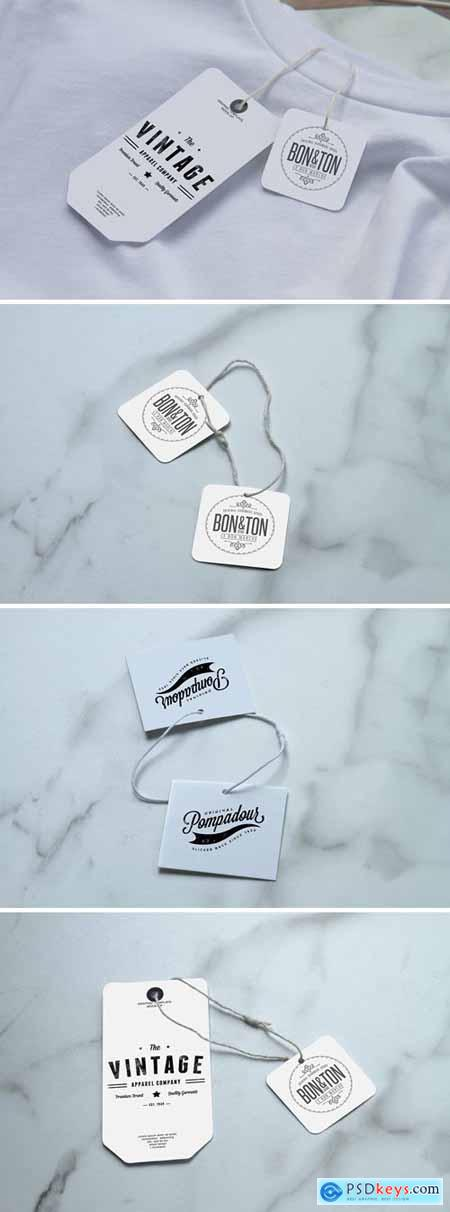 Multipurpose Labels Mockup