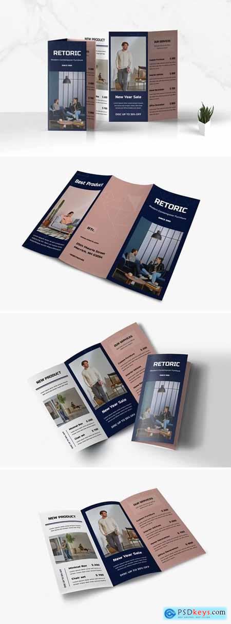 Trifold Business Brochure YC59KW2