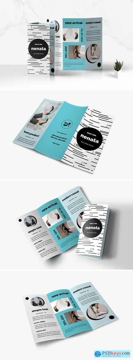 Trifold Business Brochure KY3DTXU