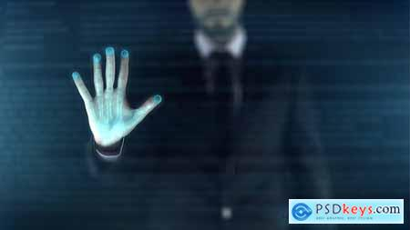Videohive Holographic Display - Digital Era