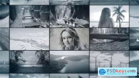 Videohive Production Reel - Video Wall
