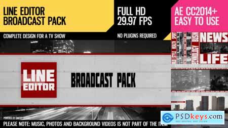 Videohive Line Editor (Broadcast Pack) 2894280
