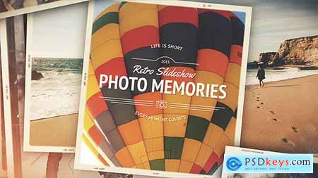 Videohive Photo Memories - Retro Slideshow